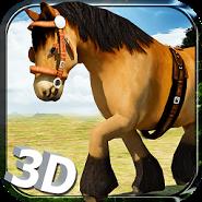 Wild Horse Simulator- 3D Run