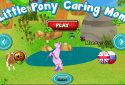 Little Pony Caring Mom