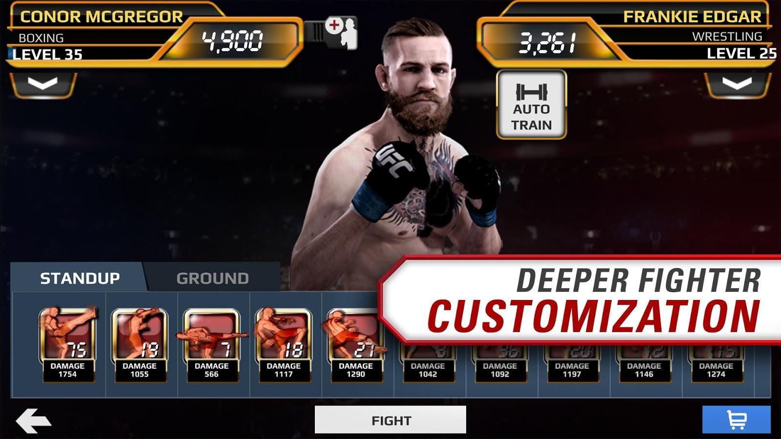 Скачать EA SPORTS™ UFC® 1.9.3097721 на андроид