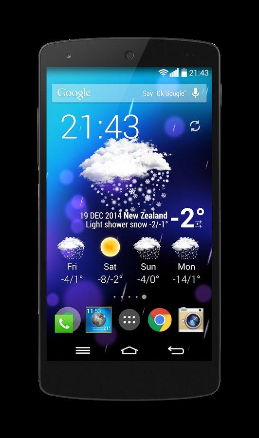 анимированные виджеты погоды версия 5.6 на андроид