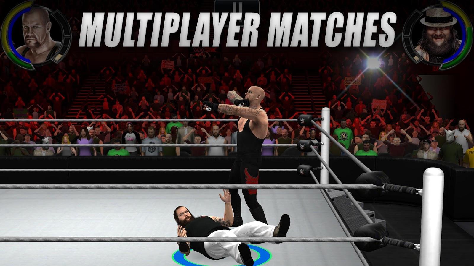 WWE 2K (MOD APK, Paid/Unlocked) v1.1.8117 2