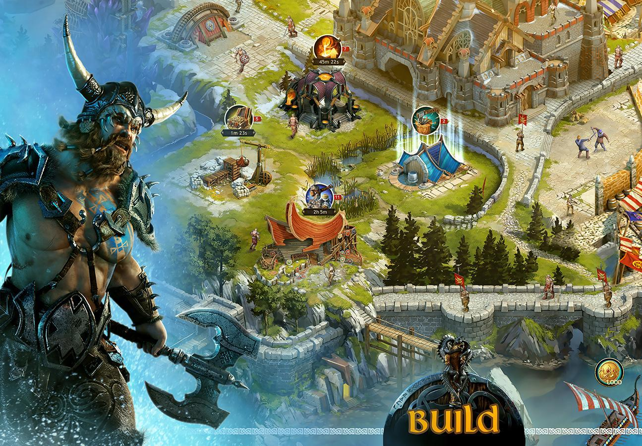 Vikings: war of clans apk download free strategy game for.