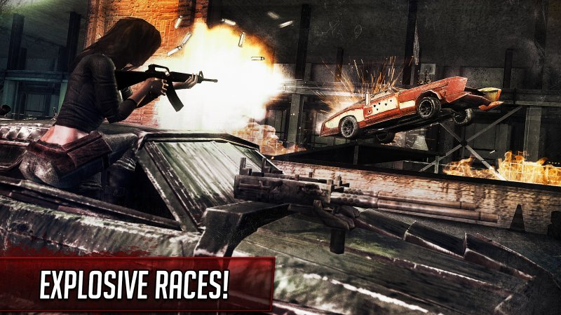 Death Race - Shooting Cars Screenshot