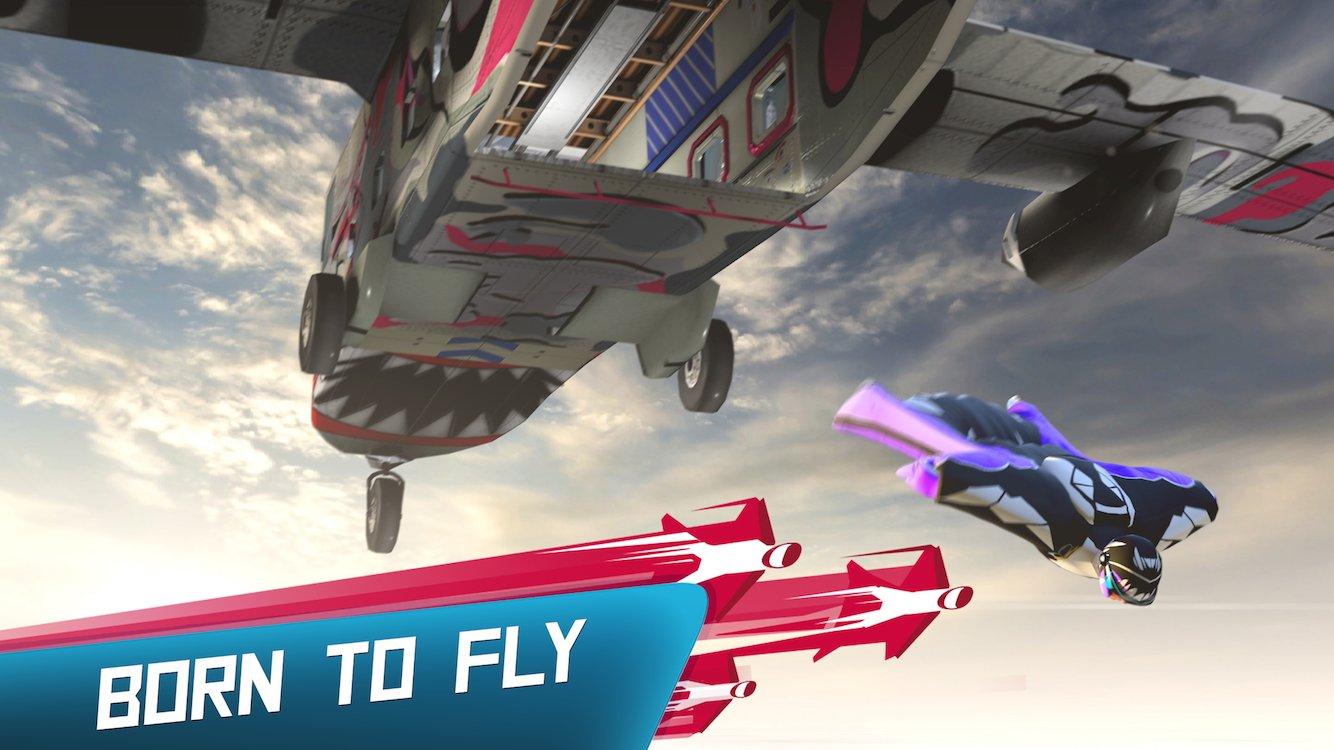 Red Bull Wingsuit Aces Apk