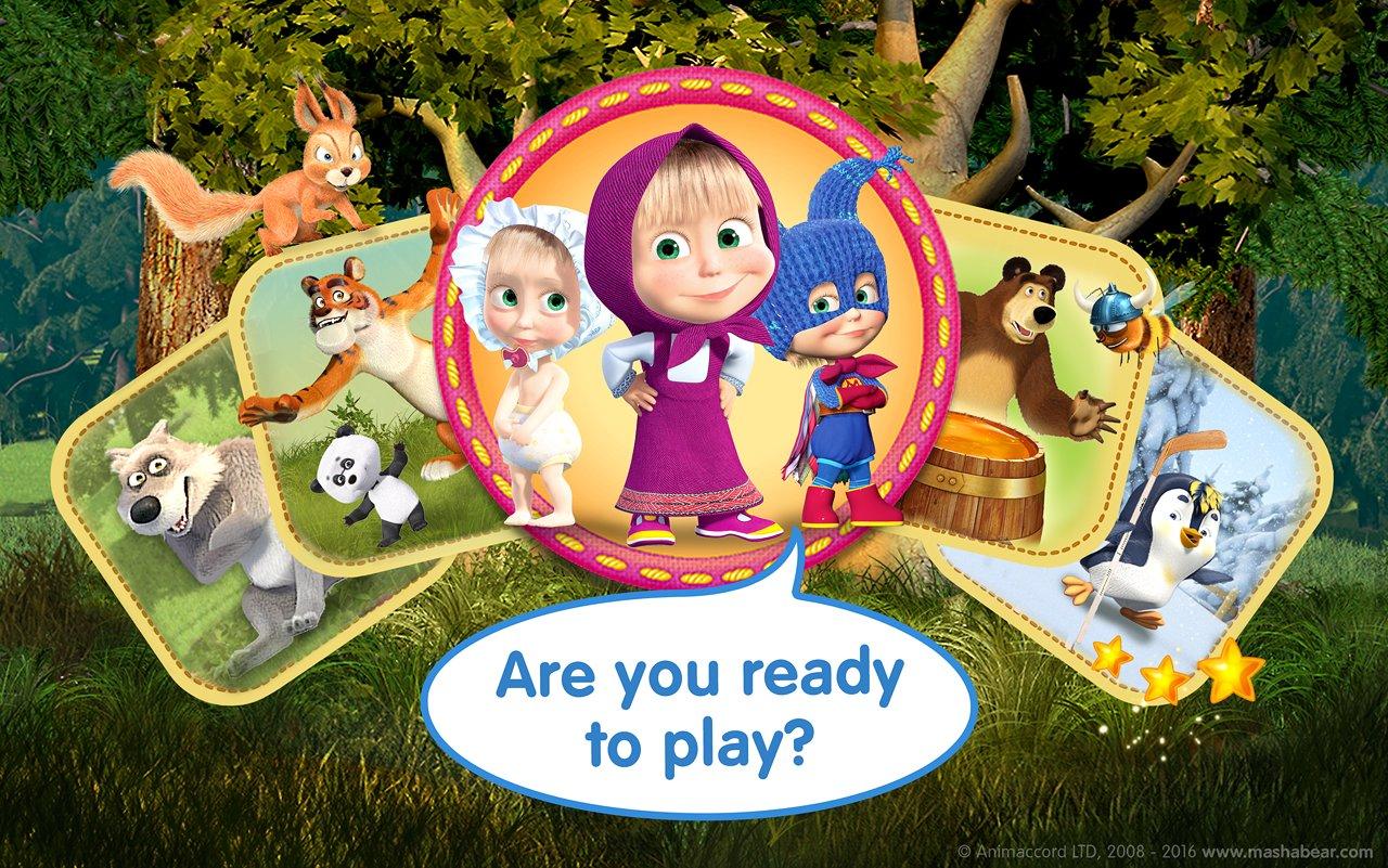 Скачать Маша и Медведь: Игры для детей на …