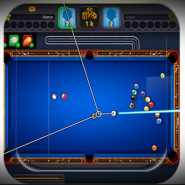 Play 8 ball board pool