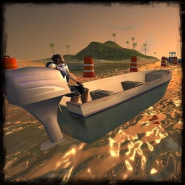 River Boat Parking 3D
