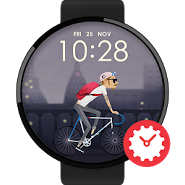 Night Riding watchface