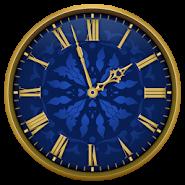 Виджет аналоговые часы