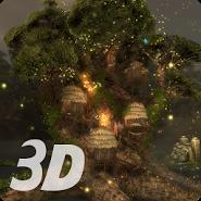 Magic Tree 3D Live Wallpaper