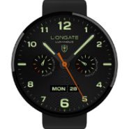 Luminous watchface