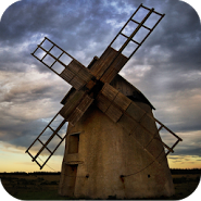 Old Windmill - Live Wallpaper