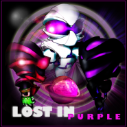 Lost in purple