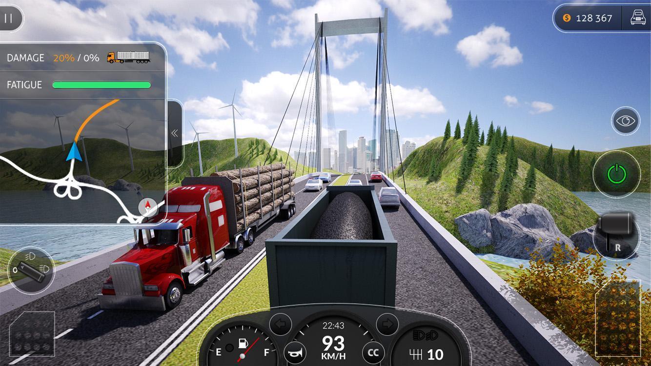 Скачать симуляторы дальнобойщиков на андроид