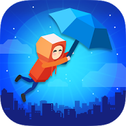Umbrella Jump : Hard Levels!
