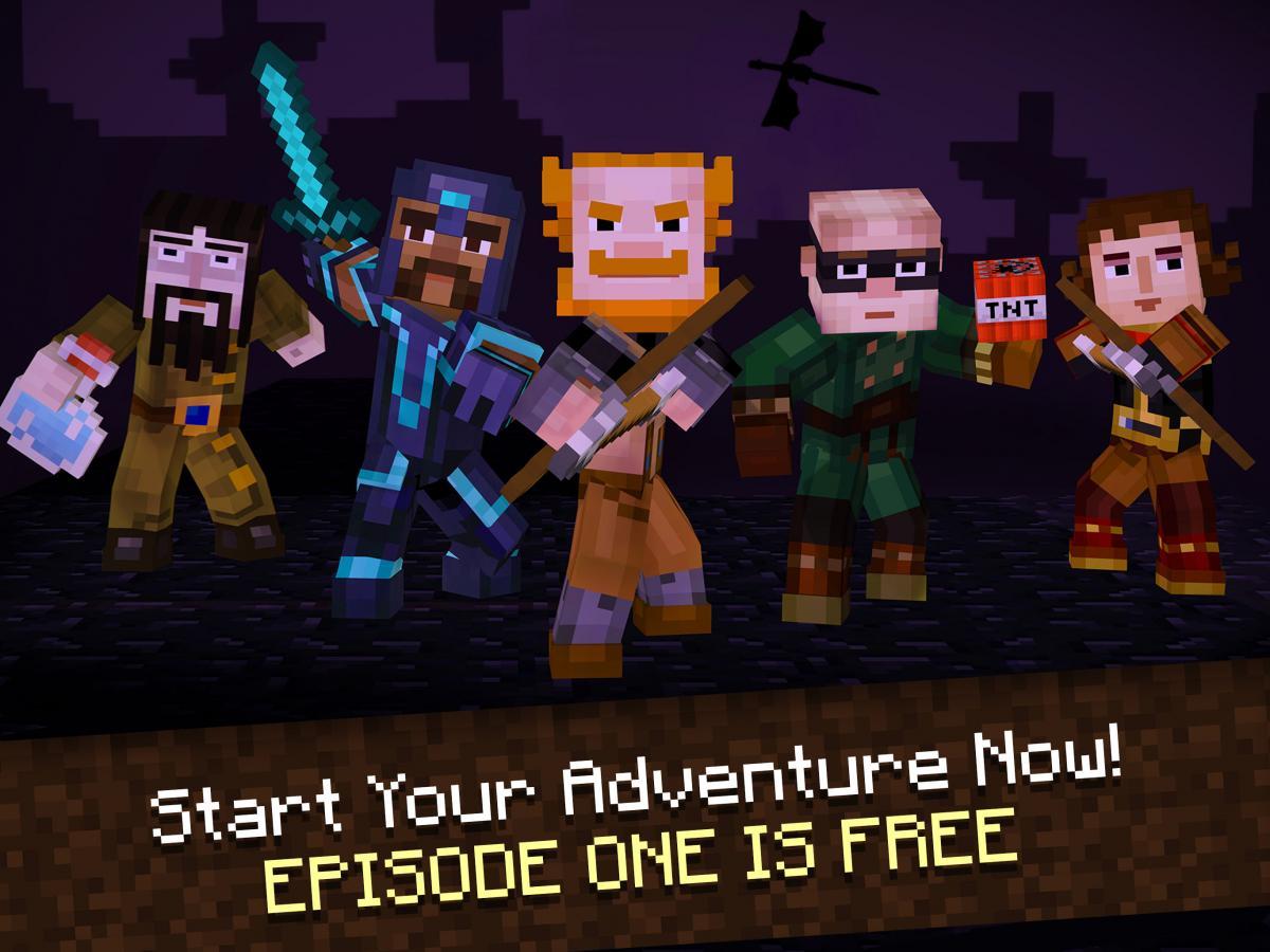Скачать Взломанную Игру Minecraft Story Mode