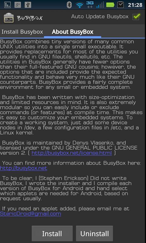 Busybox для android скачать