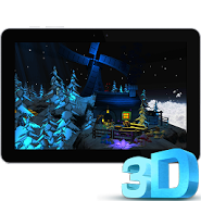 3D Floating Island Live WP