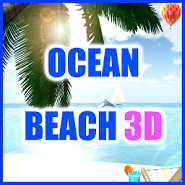 OCEAN BEACH 3D Live Wallpaper