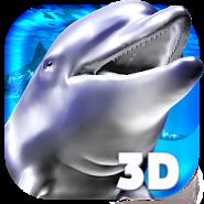 Ocean 3D Dolphin Live Wall