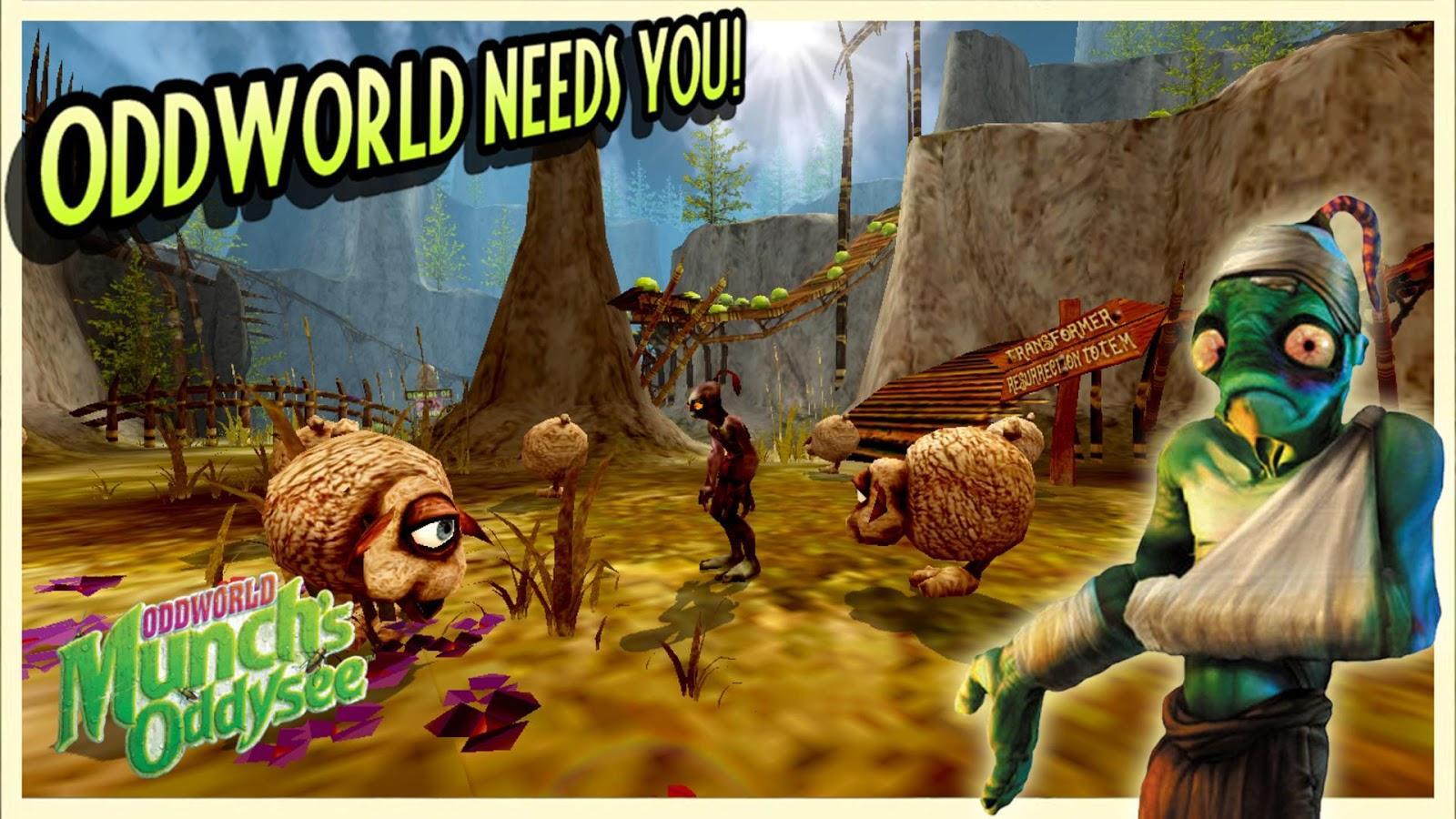 Oddworld: Stranger's Wrath - droidlook.net
