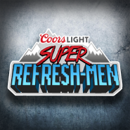 Coors Light Super Refresh-Men