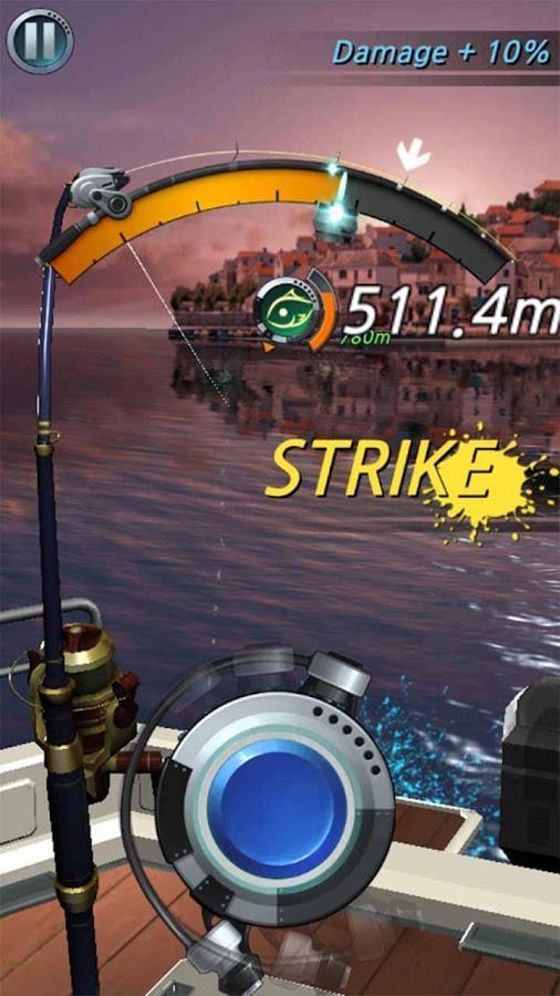 рыболовный крючок игра много денег скачать
