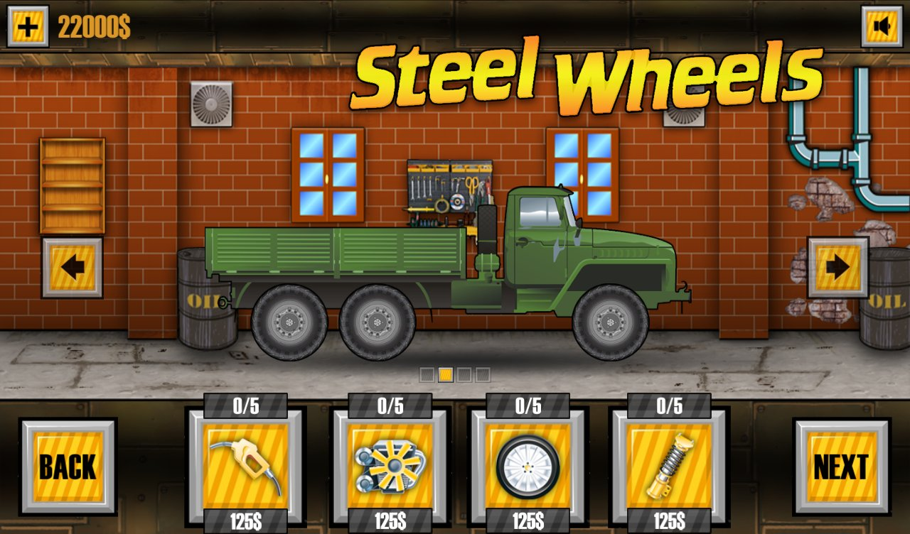 Crazy Wheels #1 - Android Games - YouTube