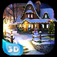 White Christmas 3D Live Wallpaper