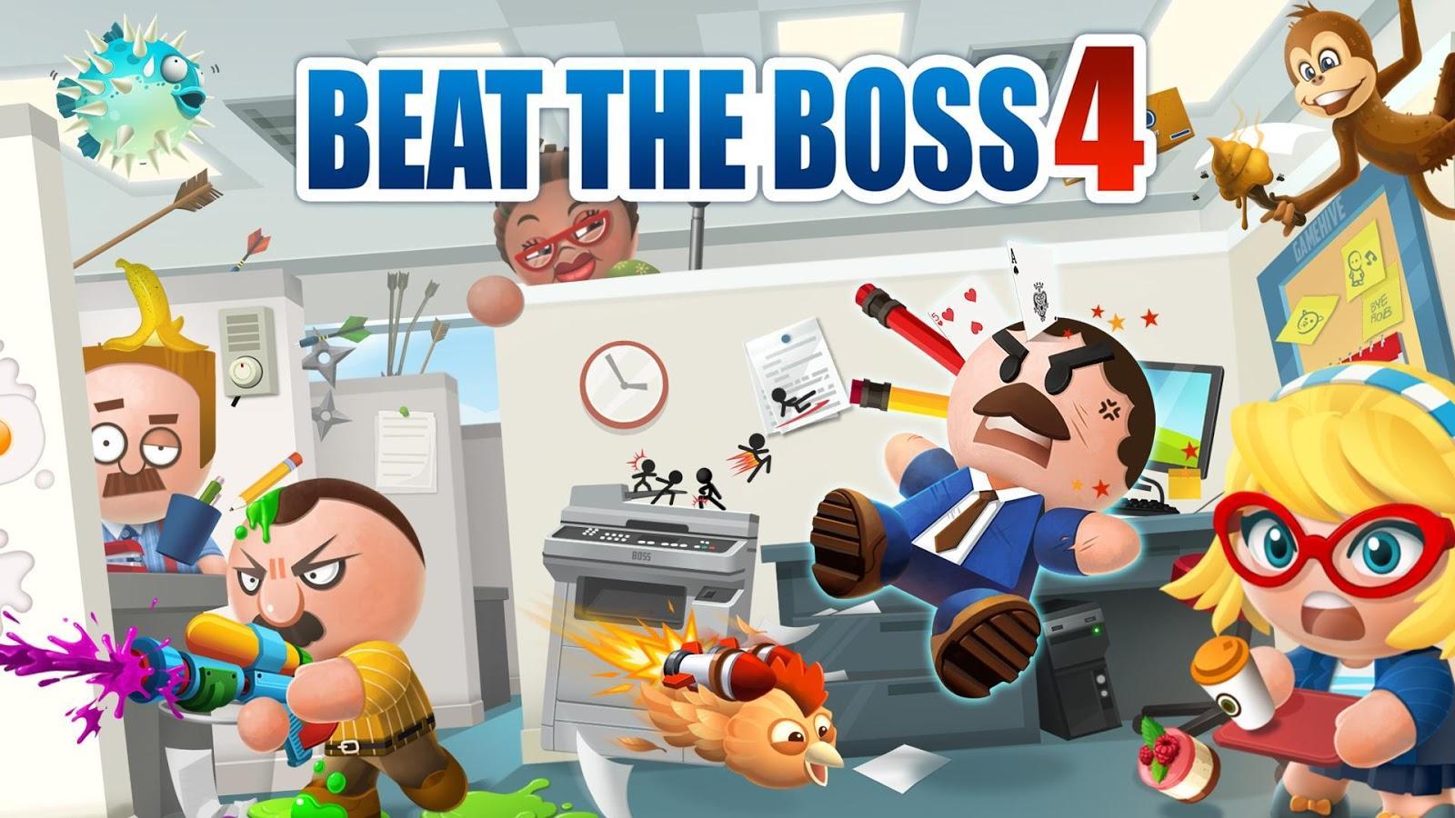 скачать игры на андроид beat the boss 3 много денег