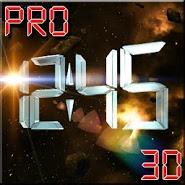 Space Clock 3D Pro LWP