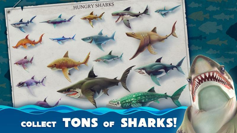 Голодні акули грати онлайн