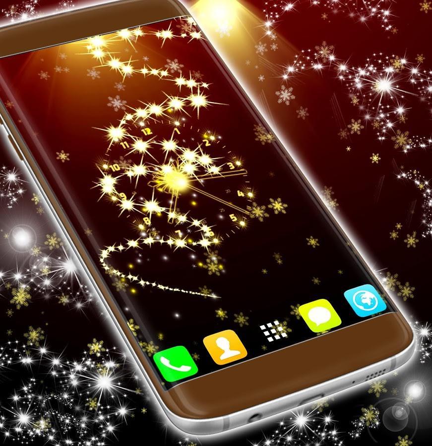 Бесплатные Живые Обои На Телефон Новым Годом