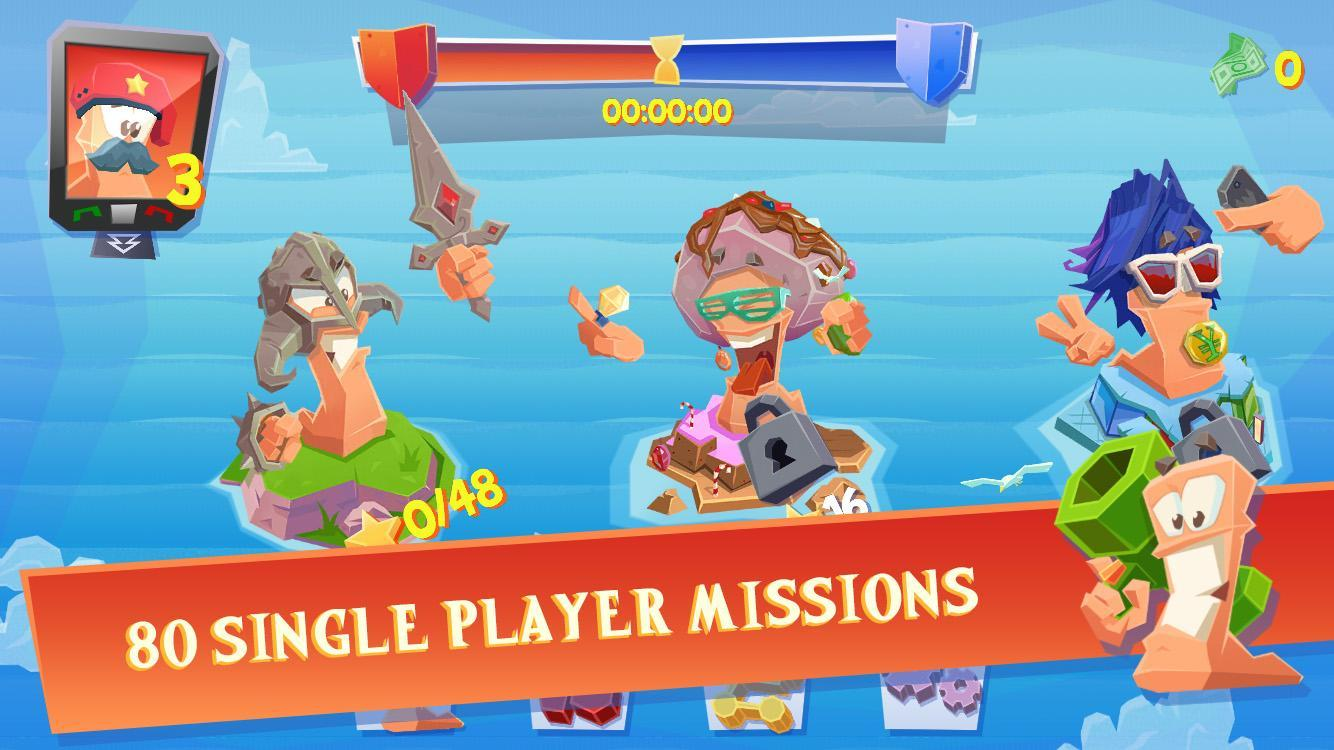 Приложения в Google Play – Worms 3