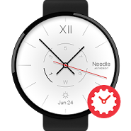 Needle watchface