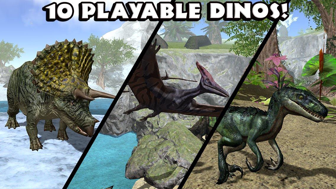 Скачать симулятор тиранозавра на андроид