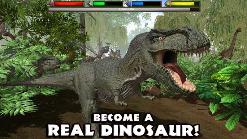 Скачать симулятор динозавра игру.