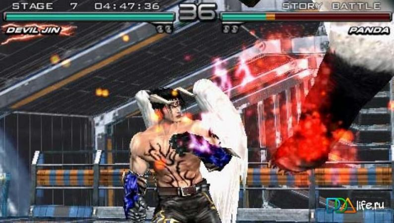 Tekken: Dark Resurrection скачать 3 90 на PSP