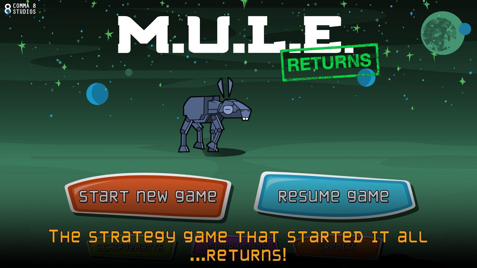 MULE Returns скачать 1.0.1 на Android Mule Returns