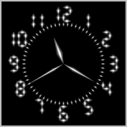 3D Clock Live Wallpaper