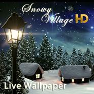 Snowy Village HD LWP