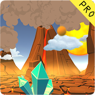 3D Cartoon Volcano Live WP