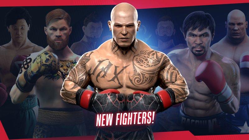 скачать игру на андроид real boxing мод на деньги