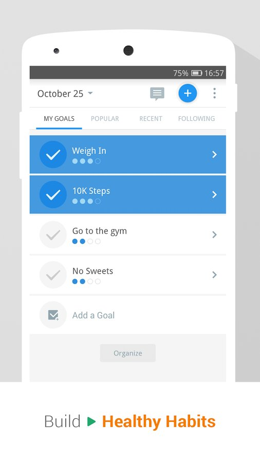 Pedometer & Weight Loss Coach скачать p2.9.8 на Android