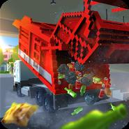 Blocky Garbage Truck SIM