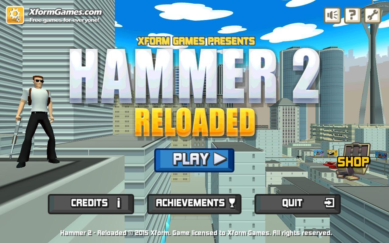 Сущности, Хаммер Игра Перезагрузка 2 который сего момента