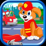 Puppies Fire Patrol