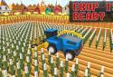 Blocky Plow Farming Harvester