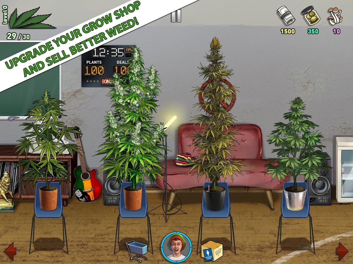 Андроид симулятор выращивания марихуаны обои на андроид листья конопли