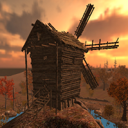 Gyroscopic 3D Windmill LWP